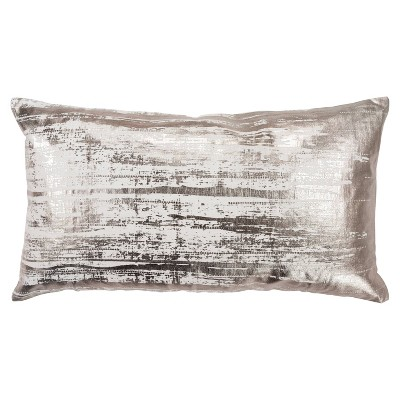 Abstract Poly Filled Pillow Ivory - Rizzy Home