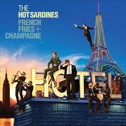 Hot sardines - French fries & champagne (CD) - image 1 of 1