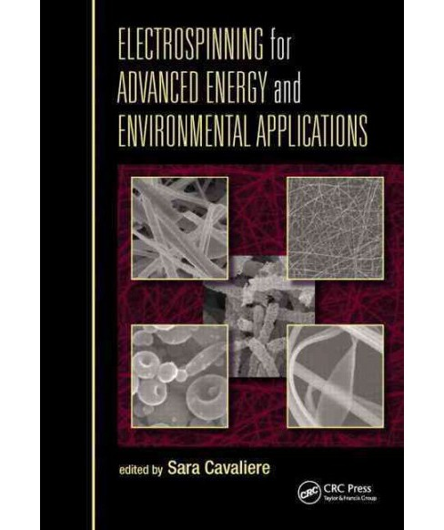 Electrospinning for Advanced Energy and Environmental Applications (Hardcover) - image 1 of 1