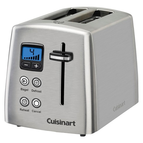 cuisinart 2 slice compact toaster stainless steel cpt 415 target