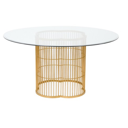 Dining Table Gold - Safavieh - image 1 of 3