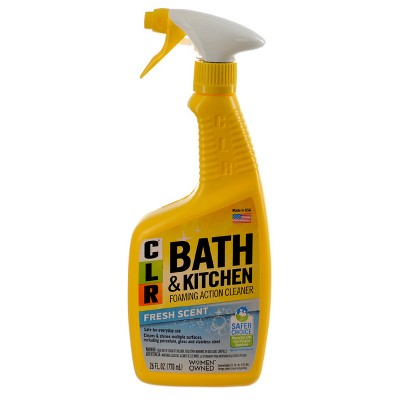 CLR Fresh Scent Bath and Kitchen Multi-Surface Cleaner 26 oz