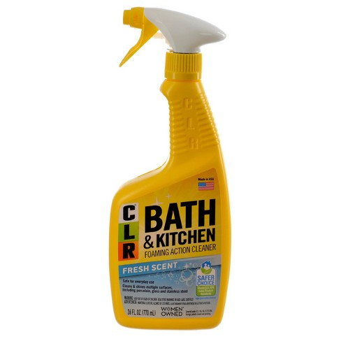 Clr Fresh Scent Bath And Kitchen Multi Surface Cleaner 26