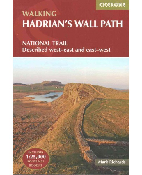 Walking Hadrian's Wall Path (Paperback) (Mark Richards) - image 1 of 1