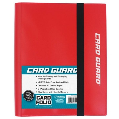 Excell 9 Pocket Pro-Folio Red
