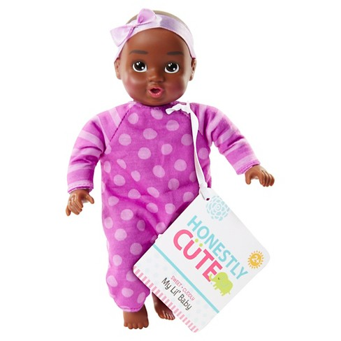 "Honestly Cute Baby My Lil' Baby 8"" Baby African American - image 1 of 3"