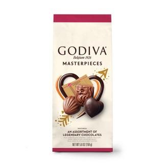 Godiva Valentines Day Masterpiece Assorted Bag - 5.8oz