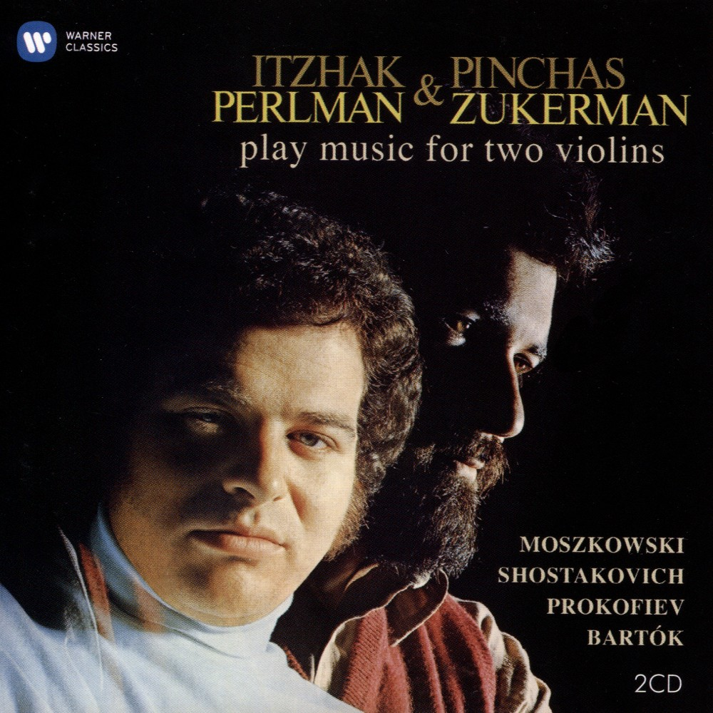 Itzhak Perlman - Duets For Two Violins (CD)