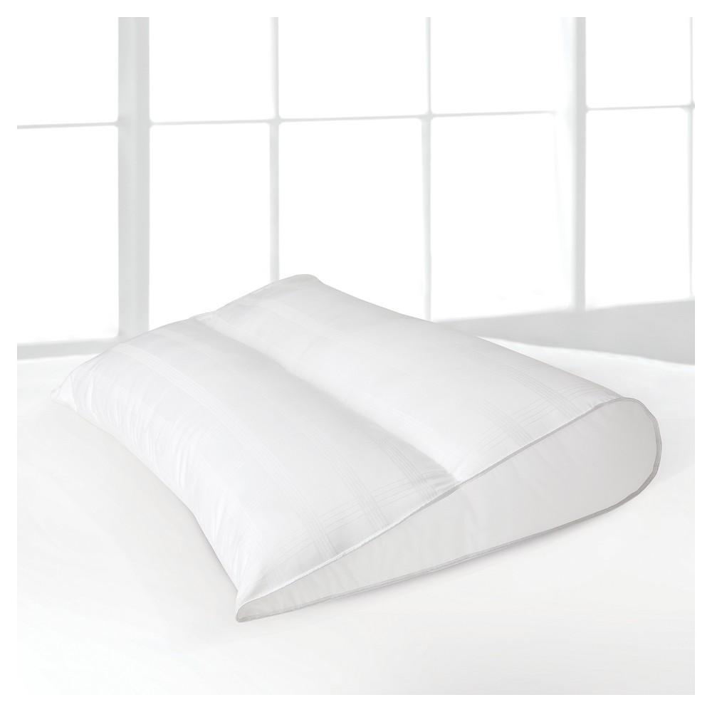 Image of Modern Classics Teardrop Gusset Memory Fiber Pillow Jumbo - LC, White