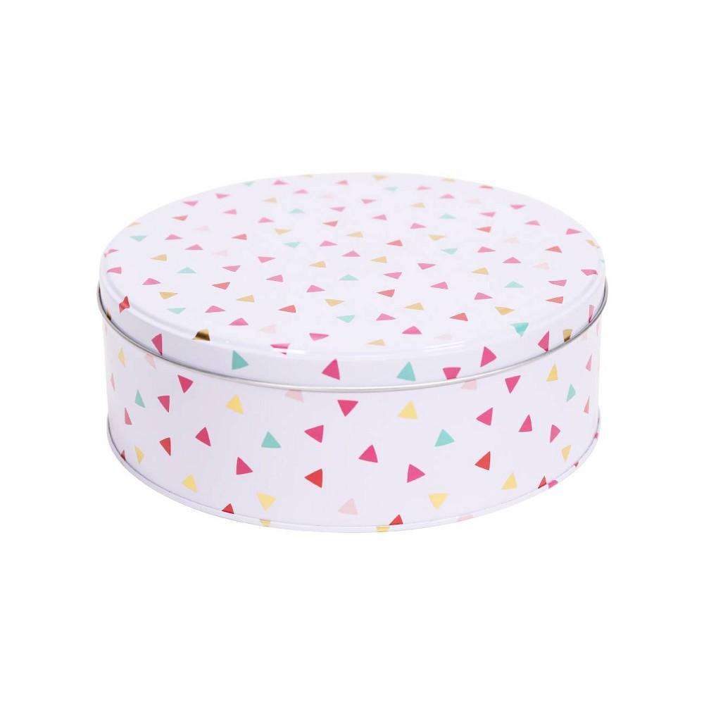 Tin Confetti Gift Box - Spritz, Multi-Colored