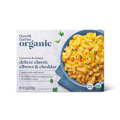 Organic Deluxe Classic Elbows & Cheddar Macaroni Cheese - 9.5oz - Good & Gather™