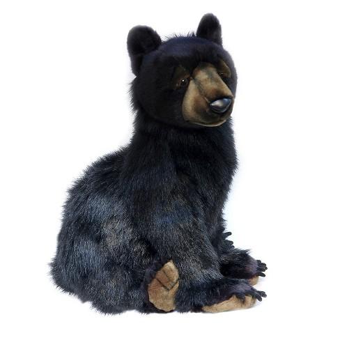 Hansa Bear Cub Plush Toy Black Target