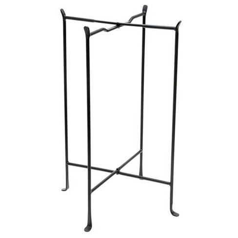 "29"" Multi Purpose Large Folding Floor Stand Black - 7"" Multi Purpose Folding Tabletop Stand Black - Achla Designs - image 1 of 1"