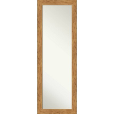 "18"" x 52"" Carlisle Framed Full Length on the Door Mirror - Amanti Art"