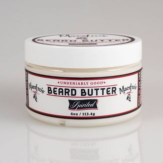 Maestro's Classic Beard Butter Spirited Blend - 4oz