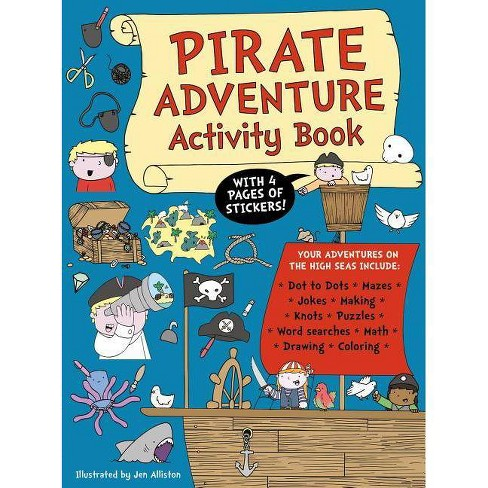 Pirate Adventure Activity Book - (Paperback) - image 1 of 1