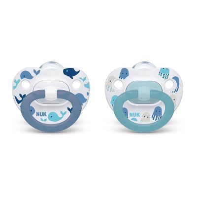 NUK Assorted Pacifier Size 0-6 months - Boy - 2pk
