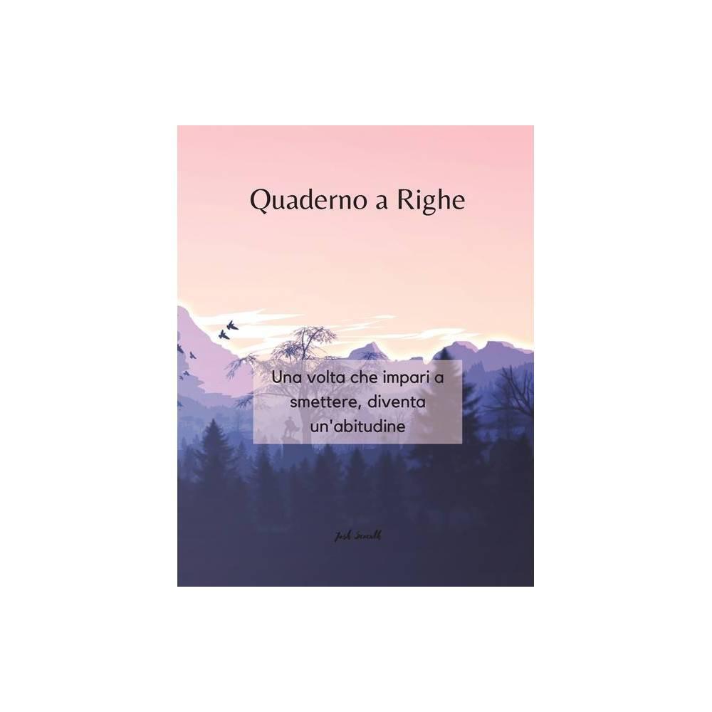 ISBN 9784890038657 product image for Quaderno a Righe - Una volta che impari a smettere, diventa un'abitudine - by Jo   upcitemdb.com
