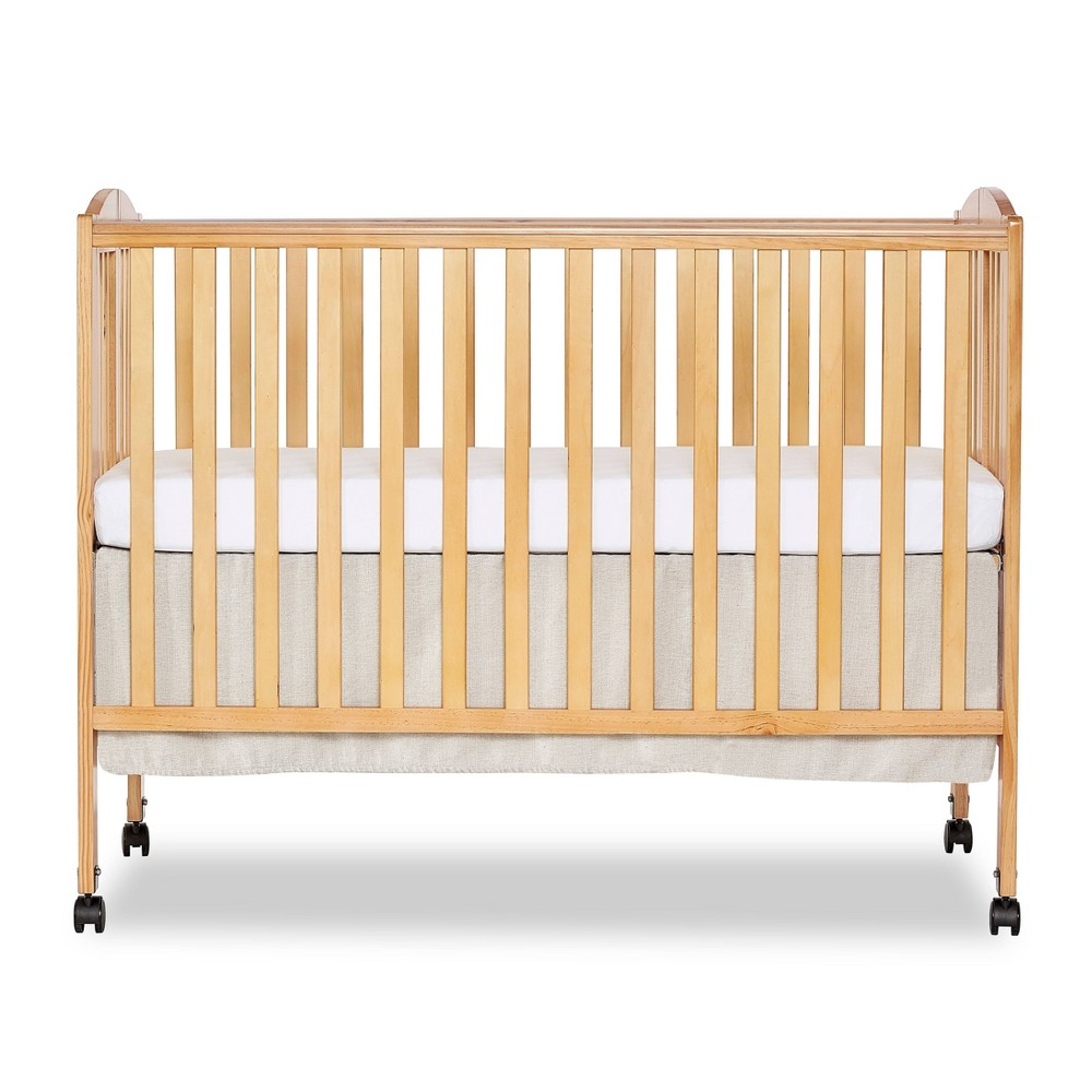 Image of Dream On Me Folding Full Size Crib - Natural