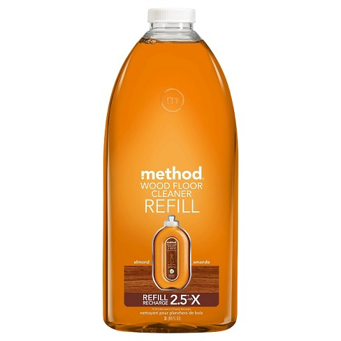 Method Cleaning Products Wood Floor Cleaner Refill Almond 68 fl oz - image 1 of 1