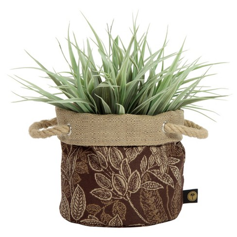 "6"" Nahla Fabric Floor Planter In Royal Zanzibar - Bombay Outdoors - image 1 of 7"