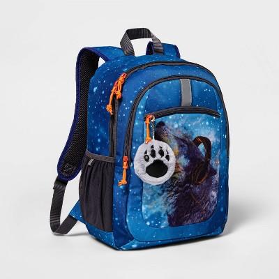 "17"" Kids' Backpack Wolf - Cat & Jack™"