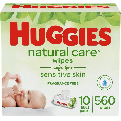 Huggies Natural Care Baby Wipes - 560ct