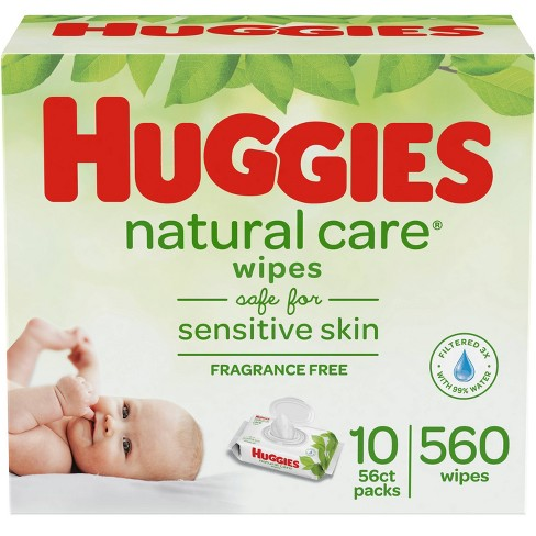 Huggies Natural Care Baby Wipes - 560ct - image 1 of 4