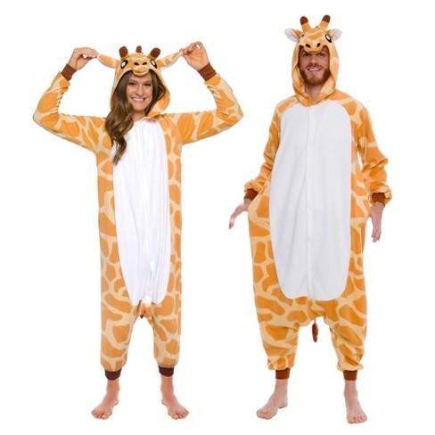Funziez! Giraffe Adult Unisex Novelty Union Suit - image 1 of 4