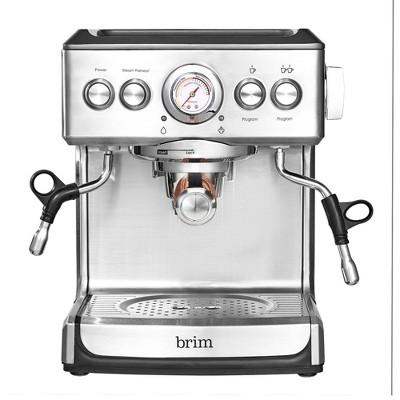 Brim Ground Espresso Maker - Silver