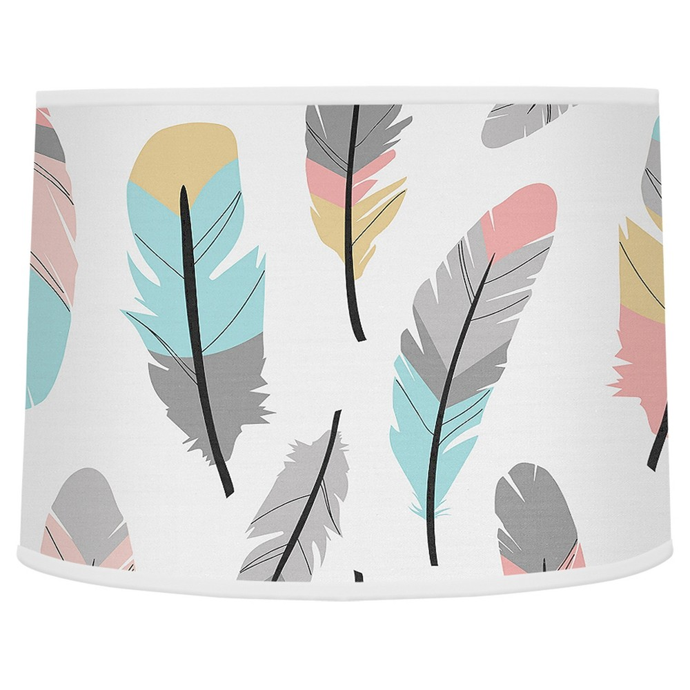 Image of Feather Lampshade - Sweet Jojo Designs