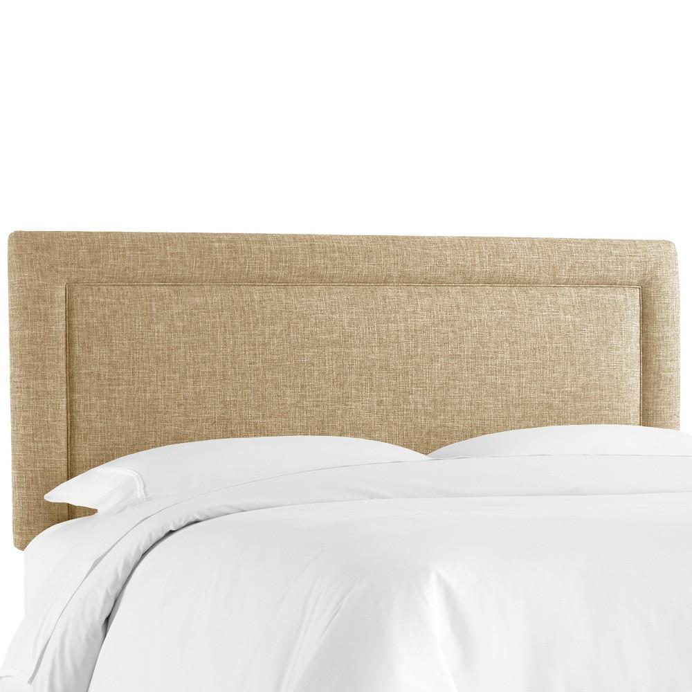 Border Headboard - Beige - King - Skyline Furniture