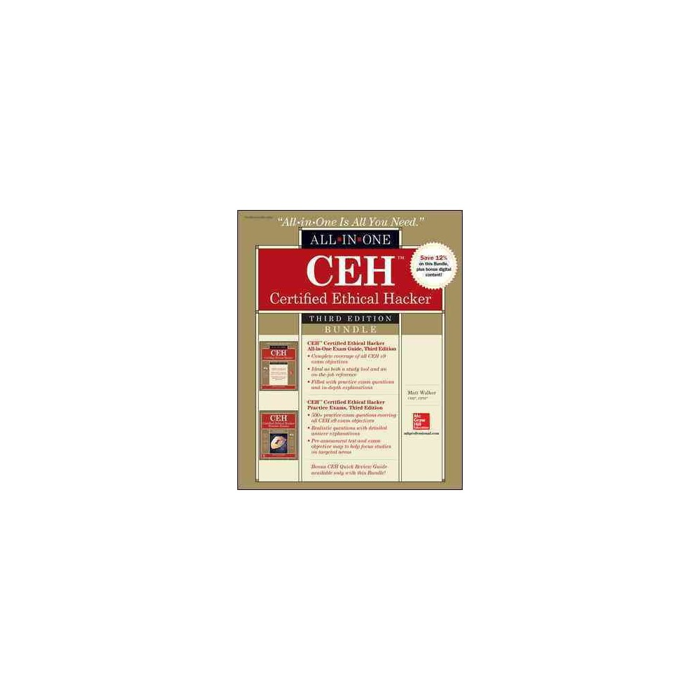 Ceh Certified Ethical Hacker Exam Guide / Ceh Certified Ethical Hacker Practice Exams (Paperback) (Matt