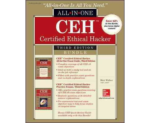 CEH Certified Ethical Hacker Exam Guide / CEH Certified Ethical Hacker Practice Exams (Paperback) (Matt - image 1 of 1