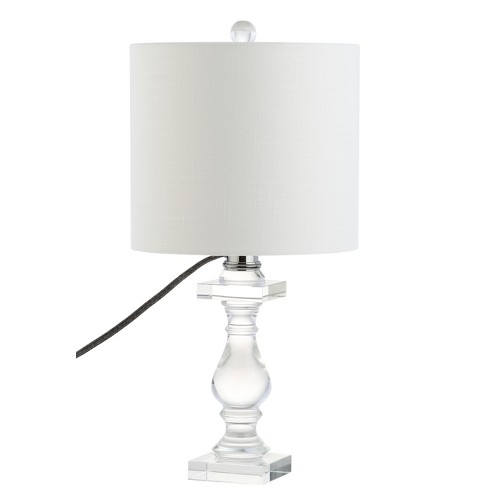 """20.75"""" Kellen Crystal LED Table Lamp Clear (Includes Energy Efficient Light Bulb) - JONATHAN Y - image 1 of 4"""
