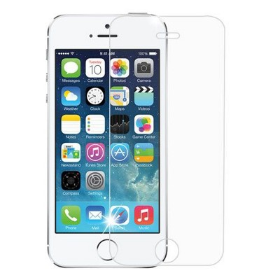 MYBAT Clear Tempered Glass LCD Screen Protector Film Cover For Apple iPhone 5/5C/5S/SE