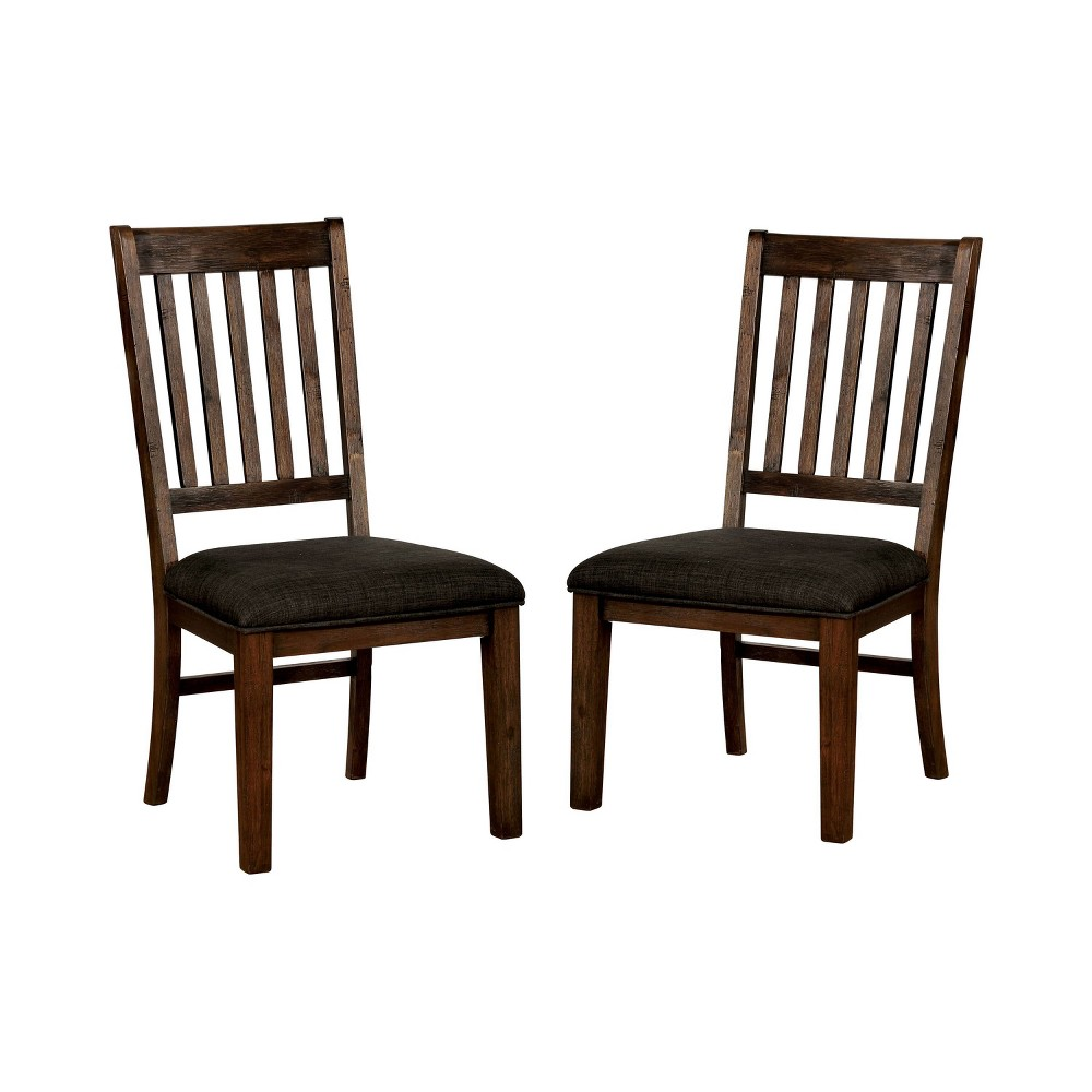 Set Of 2 Winston 160 Dining Chairs Red Walnut Homes Inside Out