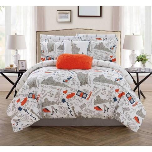 Chic Home Design Queen 9pc Ellis Bed In