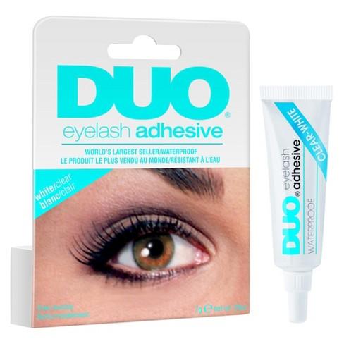 ardell duo adhesive lash adhestive clear 0 25oz target