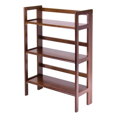 """38.54"""" Terry Folding Bookcase - Winsome"""