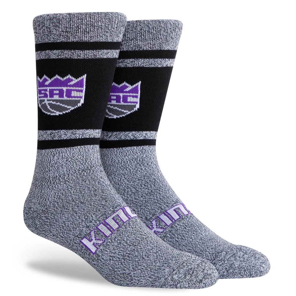 Nba Sacramento Kings Varsity Crew Socks L