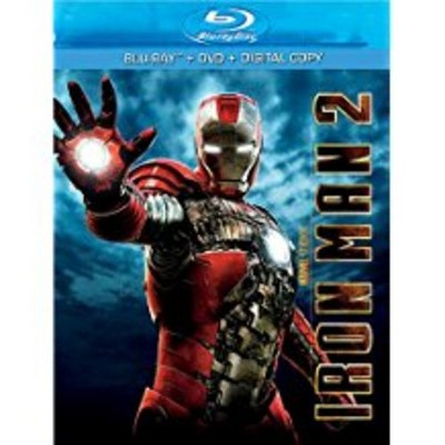 Iron Man 2 (Blu-ray + Digital)