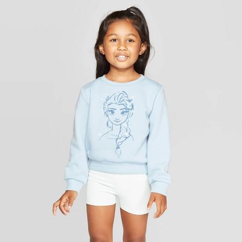 Grey More Mile Girls Fleece Sweatshirt