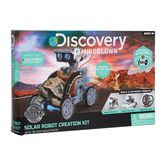 Discovery Kids Solar Robot Creation Kit image number null