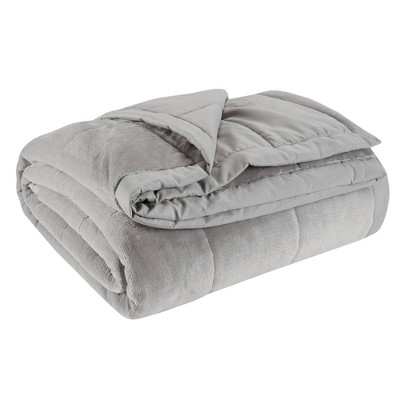King Coleman Reversible Down Alternative Bed Blanket Gray
