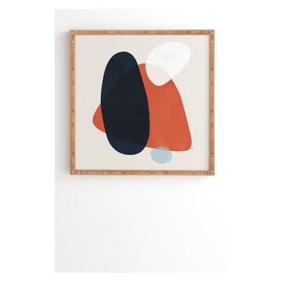 Tracie Andrews Alto Framed Wall Art Red - society6