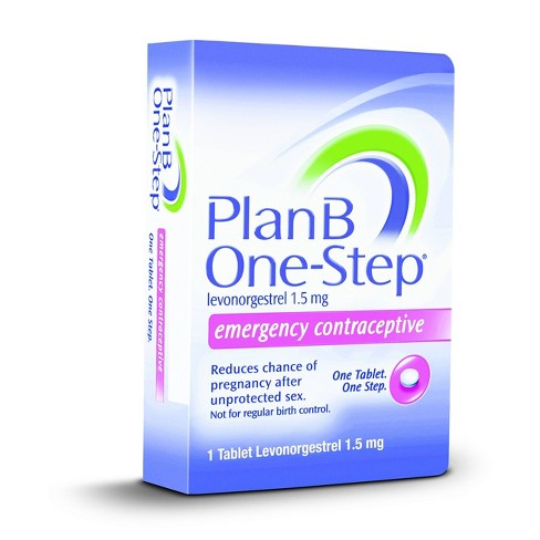 Plan B One Step Emergency Contraceptive - image 1 of 4