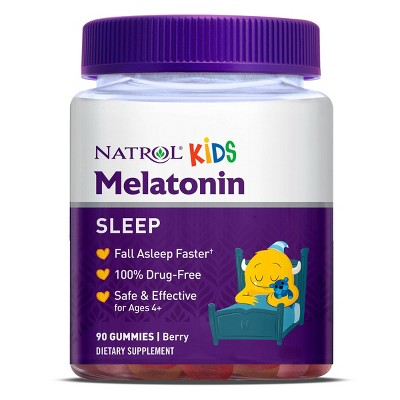 Sleep Aids: Natrol Kids Melatonin Gummies