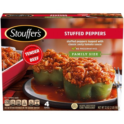 Stouffer's Family Size Stuffed Frozen Peppers - 32oz