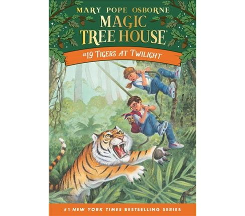 Tigers at Twilight (Paperback) (Mary Pope Osborne) - image 1 of 1